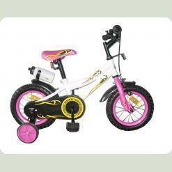 Велосипед двухколёсный Condor - WHITE with Pink