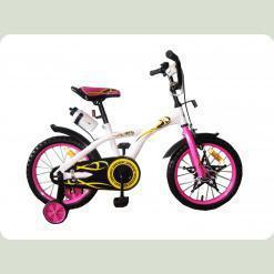 Велосипед двухколёсный Eagle - WHITE with Pink
