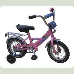 """Велосипед Марс 16"""" ручной тормоз+эксцентрик (розовый)"""
