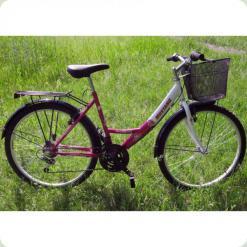 """Велосипед Mustang Safire 26"""" Розовый + Сборка"""
