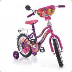 "Велосипед Mustang Winx 12"" Розово-сиреневый"