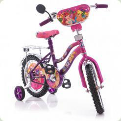 "Велосипед Mustang Winx 14"" Розово-сиреневый"