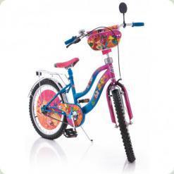 """Велосипед Mustang Winx 20"""" Розово-фиолетовый"""