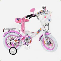 Велосипед PROFI детский мульт 12 д. P1255W-W