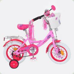 Велосипед PROFI детский мульт 12 д. P1256F-W