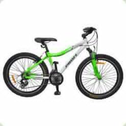 """Велосипед Profi Liners XM241A 24"""" Бело-салатовый"""