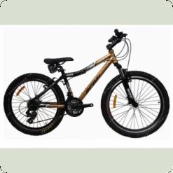"""Велосипед Profi Liners XM241C 24"""" Черно-золотой"""