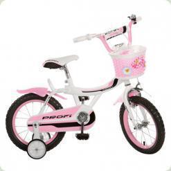 """Велосипед Profi Trike 14BX406-3 14"""" Бело-розовый"""