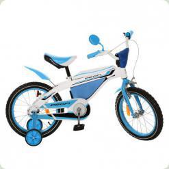 """Велосипед Profi Trike 16BX405-1 16"""" Бело-голубой"""