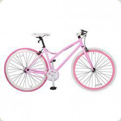 "Велосипед Profi Trike FIX26C702-1 26"" Бело-розовый"