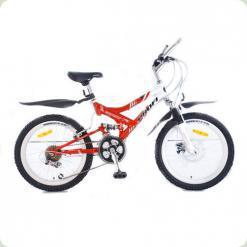 """Велосипед Profi Trike M2009A 20"""" Красно-белый"""