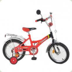 """Велосипед Profi Trike P 1436 14"""" Красно-черный"""