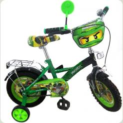 """Велосипед Profi Trike P1234N 12"""" Нинджяги"""