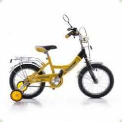 """Велосипед Profi Trike P1447 14"""" Желто-черный"""