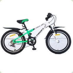 """Велосипед Profi Trike XM204C 20"""" Бело-салатовый"""