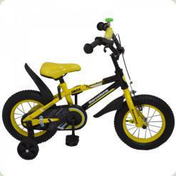 """Велосипед Rueda Barcelona 12"""" Желтый"""