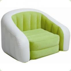 Велюр кресло Intex Cafe Club Chair 68571 Lime