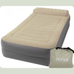 Велюр кровать Intex 67776