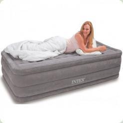 Велюр кровать Intex 67952 со встроенным насосом 230V