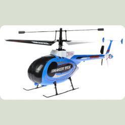 Вертолёт 4-к микро р/у 2.4GHz Xieda 9938 Maker копийный (синий)