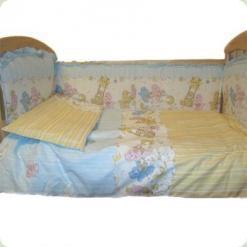 Защита на кровать Ассоль Гамми Голубой