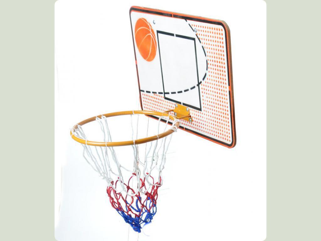 Детский баскетбольный щит с кольцом для дома своими руками 25