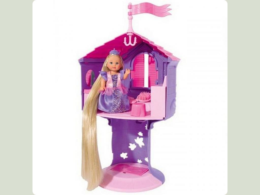 """Кукольный набор Эви """"Рапунцель в башне"""" с длинными ..."""
