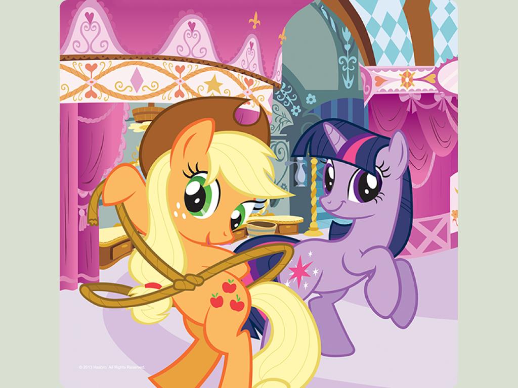 Пазл Trefl 3 в 1 My Little Pony Rainbow Dash and ...