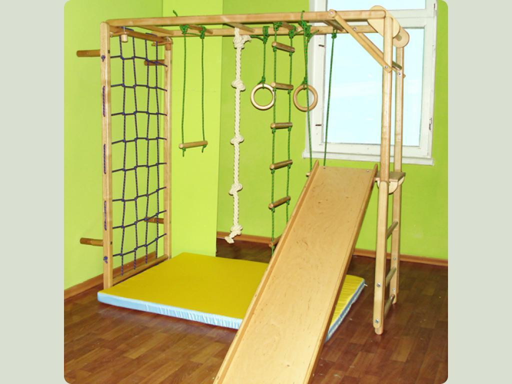 Веревочная стенка для детей