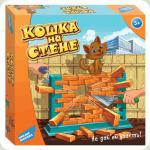 """1503H Игра детская настольная """"Кошка на стене"""""""