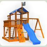 Детский деревянный городок для дачи Бэбиленд-5
