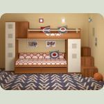 Полный комплект детской спальни NEXT-1