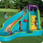 Детский надувной батут-замок АКВАПАРК - лучшее развлечение на отдыхе
