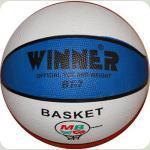Мяч баскетбольный WINNER Tricolor № 7  - лучшая модель для игры на любом поле