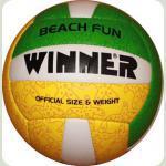 Мяч волейбольный WINNER Beach Fun - яркий вариант для игры на пляже