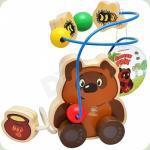 Деревянная игрушка Bambi Лабиринт на проволоке (GT 5934)
