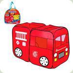 Детская палатка Play Smart Пожарная машинка (M 1401)