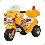 Детский электромобиль ZP 9983-6 мотоцикл Bambi (желтый)