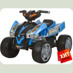 """Детский квадроцикл """" EVА Колеса"""" M 2394E синий"""