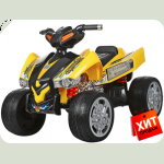 """Детский квадроцикл """" EVА Колеса"""" M 2394E желтый"""