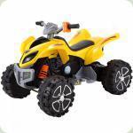 Детский квадроцикл  SM-108 желтый