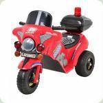 Детский мотоцикл ZP 9983-3Bamb i трехколесный электромобиль (красный)