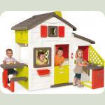 Дом для друзей с чердаком и летней кухней, 217х155х172 см, 3+