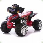 Электроквадроцикл 5118 красно-черный  Bambi