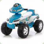 Электроквадроцикл Bambi M0417 синий