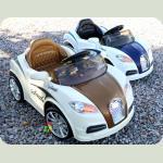Электромобиль Cabrio BU коричневый