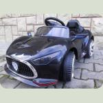 Электромобиль CABRIO M1 черный