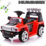 Электромобиль Hummer MINI, красный