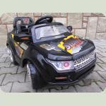 Электромобиль Jeep малый черный