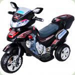 Электромобиль-мотоцикл Bambi F928 Черный (M0562/F928-2)